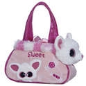 "Aurora 8"" Wintertime Pammee Pet Carrier"