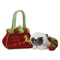 "Aurora 8"" Yoohoo Santa Village Pet Carrier"