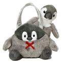 "Aurora 6"" Penguin Carrier Purse"
