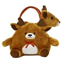 "Aurora 6"" Reindeer Carrier Purse"