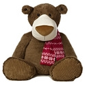 "Aurora 30"" Peppermint Mocha Bear"