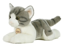 "Aurora 11"" GREY TABBY CAT"