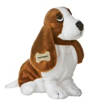 "Aurora 10"" HUSH PUPPIES BASSET DOG"