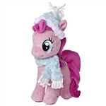 "Aurora 10"" Pinkie Pie With Fuzzy Hat & Scarf Pony"