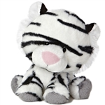 "Aurora 6"" Wobbly Bobblees - White Tiger"