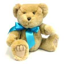"Small Blue Bow - Recommended for Animals 5"" to 10"" Long-BEAR NOT INCLUDED"