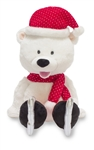 "12"" Cuddle Barn Polar Polly recites Winter Wonderland"