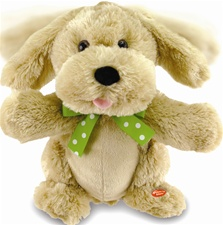 "12"" Cuddle Barn My Little Puppy-Sings ""If You're Happy And You Know it, Clap Your Hands'"