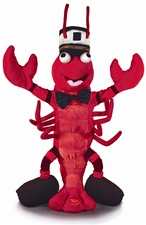 "16"" Cuddle Barn Rocco Lobstah- Sings 'Sea Cruise'"