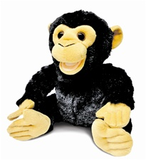 "10"" Cuddle Barn ZOOcational - Coco Chimp"