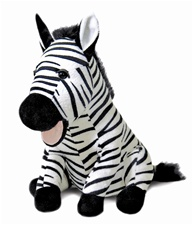 "10"" Cuddle Barn ZOOcational - Robert the Zebra"
