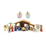 Nativity Play Set with Talking Mary Figurine