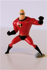Disney The Incredibles-Mr Incredible Figurine 2.5""