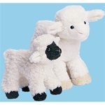 "Douglas 5"" Tall Clementine Lamb (black face)"