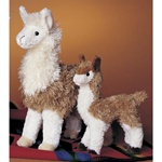 "Douglas 6"" Mini Lena Llama (shown right)"