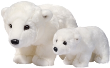 "Douglas 22"" Marshmallow Polar Bear"