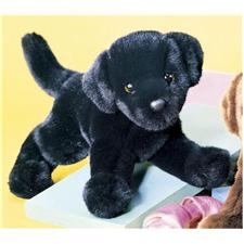 "Douglas 12"" Mini Floppy Brewster Black Lab Dog"