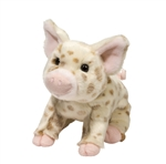 "Douglas 10"" Mud Pie Brown Pig"