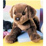 "Douglas 12"" Mini Floppy C.C. Bean Chocolate Lab Dog"