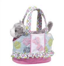 "Douglas 7"" Sweet Cakes Purse with Cat"