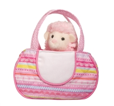 "Douglas 7"" Squiggle Tote with Hedgehog"