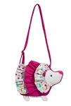 "Douglas 9"" Bubbles Hedgehog Sillo Purse"