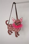 "Douglas Keysha Chihuahua 10"" Furry Couture Purse"