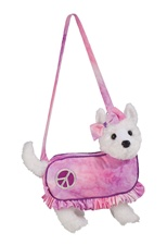 "Douglas Duchess Westie 10"" Furry Couture Purse Discontinued"