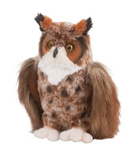 "Douglas 9"" Great Horned Owl"