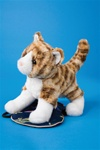 "Douglas 8"" Sadie Tiger Stripe Cat"