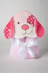Douglas Pink Dog Towel (Discontinued)
