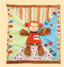 Douglas Monkey Activity Blanket
