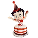 "14"" Birthday Betty Boop sings ""A Birthday Song For You"""
