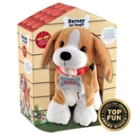 "12"" Barney Beagle - Walks, Wiggles & Talks Excitedly"