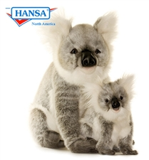 "18"" Hansa Koala Mama (Image on the Left)"