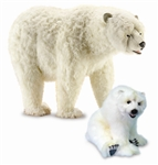 "54"" Hansa Polar Bear Life Size (Image on the Left)"