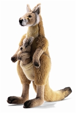 "18"" Hansa Kangaroo Mom-Joey"