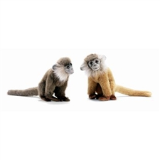 "8"" Hansa Leaf Monkey Brown (Image on the Right)"