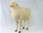 "42"" Hansa Sheep Ride On Bone Color"