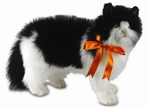 16 Quot Hansa Cat Black Amp White