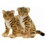 "14"" Hansa Tiger Cub Sitting (Image on the Right)"