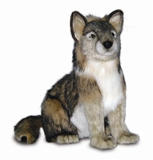 "15"" Hansa Wolf Cub Seated"
