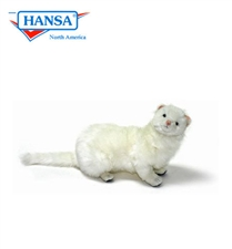 "14"" Hansa Ferret White"