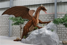 "96"" Feet Hansa Great Dragon Life Size"