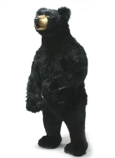 "44"" Hansa Black Bear Fritz"