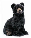 "17"" Hansa Black Bear Cub"