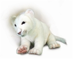 "15"" Hansa White Lion Cub"