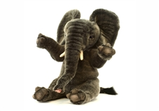 "12"" Hansa Sitting Elephant"