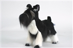 "18"" Hansa Schnauzer Minature Black"