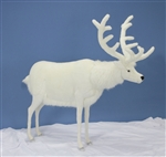 "60"" Hansa White Deer"